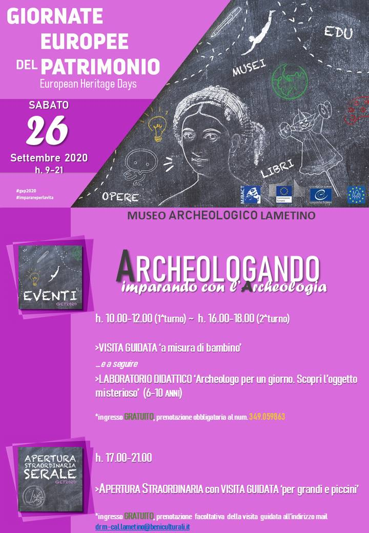ARCHEOLOGANDO. Imparando con l'archeologia