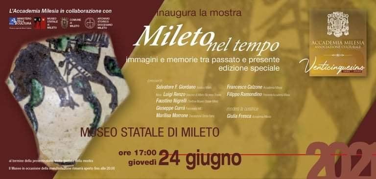 """Museo statale di Mileto - Mostra """"Immagini e memorie tra passato e presente"""""""