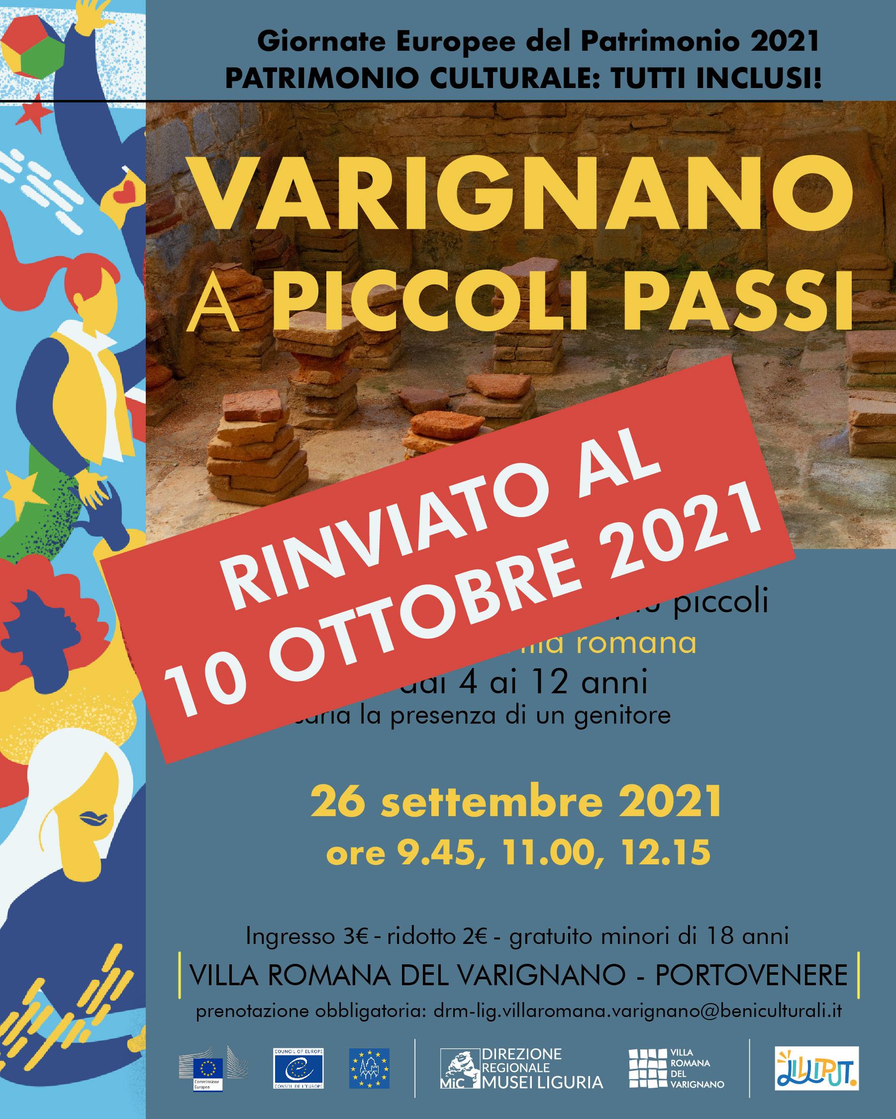 Scopriamo la Villa romana del Varignano... a piccoli passi