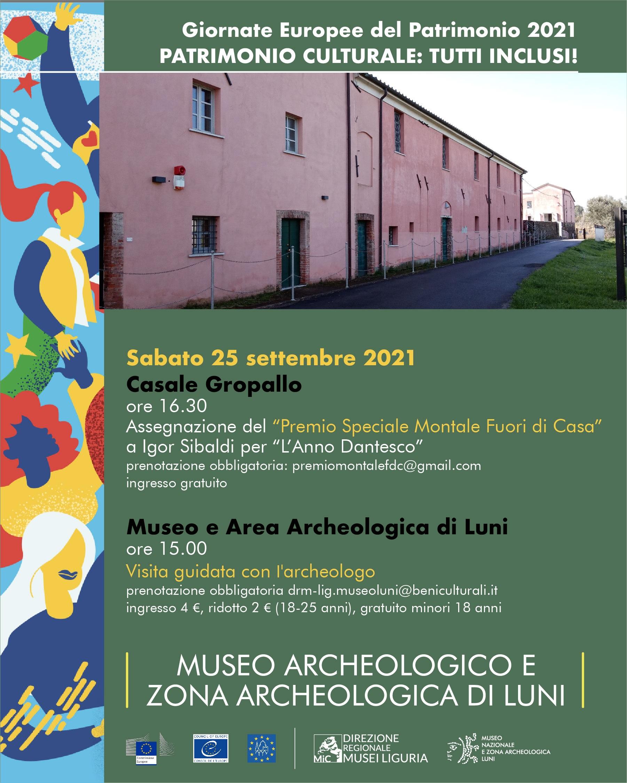 Visita guidate con l'archeologo al Museo e area di Luni