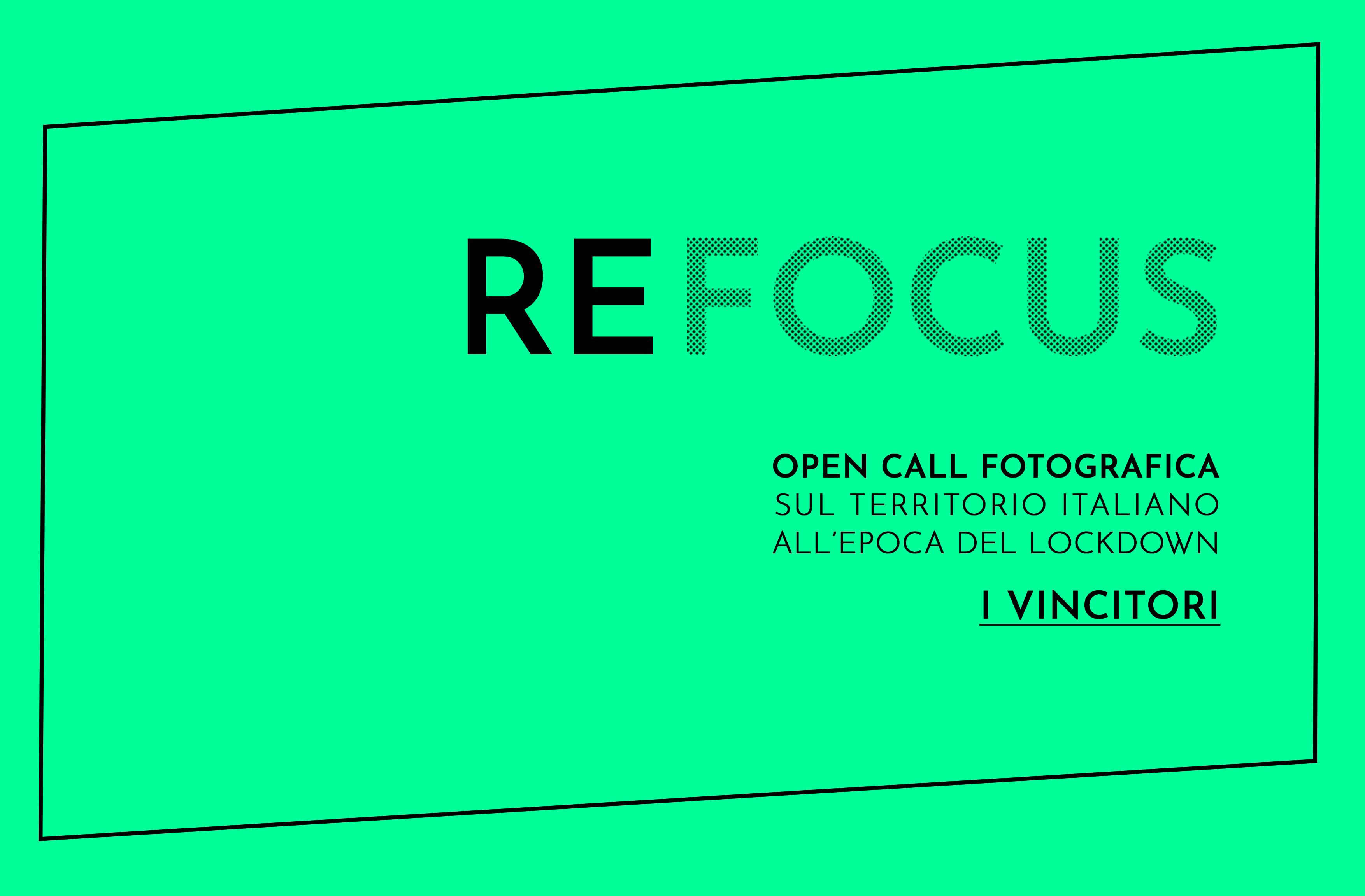 REFOCUS, selezionati i fotografi vincitori