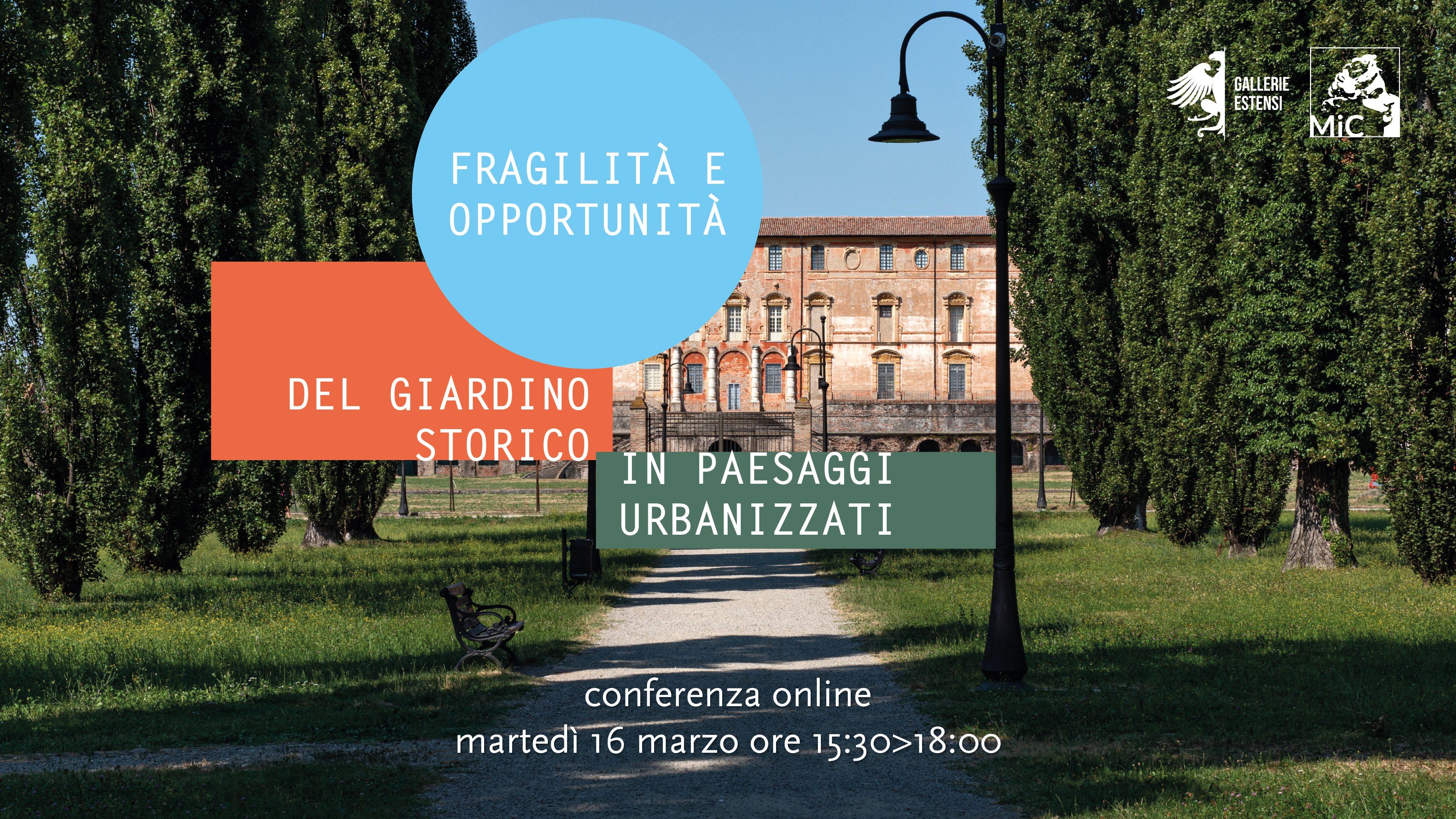 Fragilità e opportunità del giardino storico in paesaggi urbanizzati