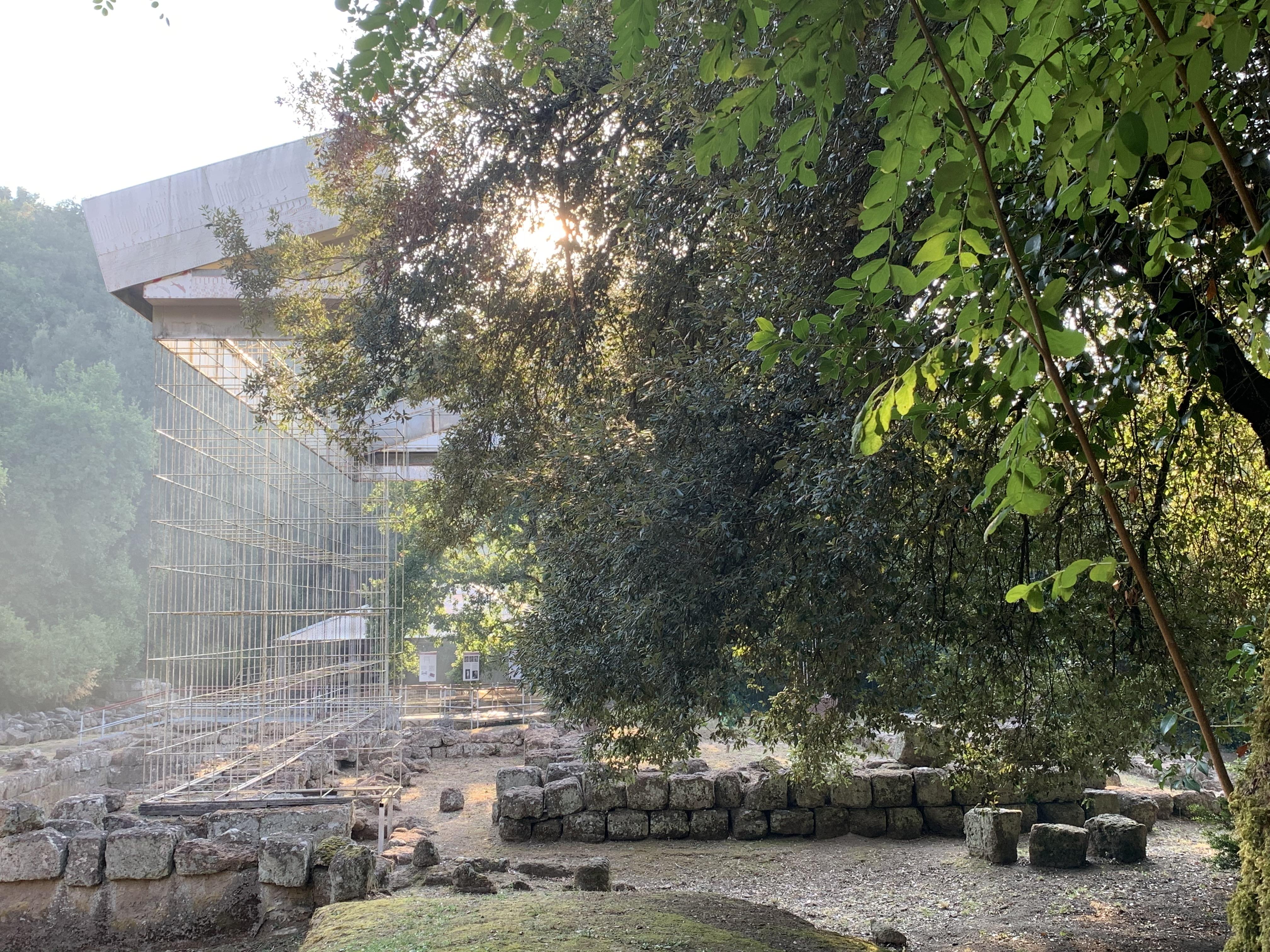 Apertura dell'Area Archeologica di Veio - Santuario etrusco dell'Apollo