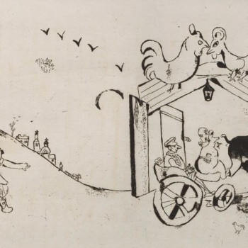 Anteprima Marc-chagall-chichikov-arrives-in-town-1927-1930JPG.JPG