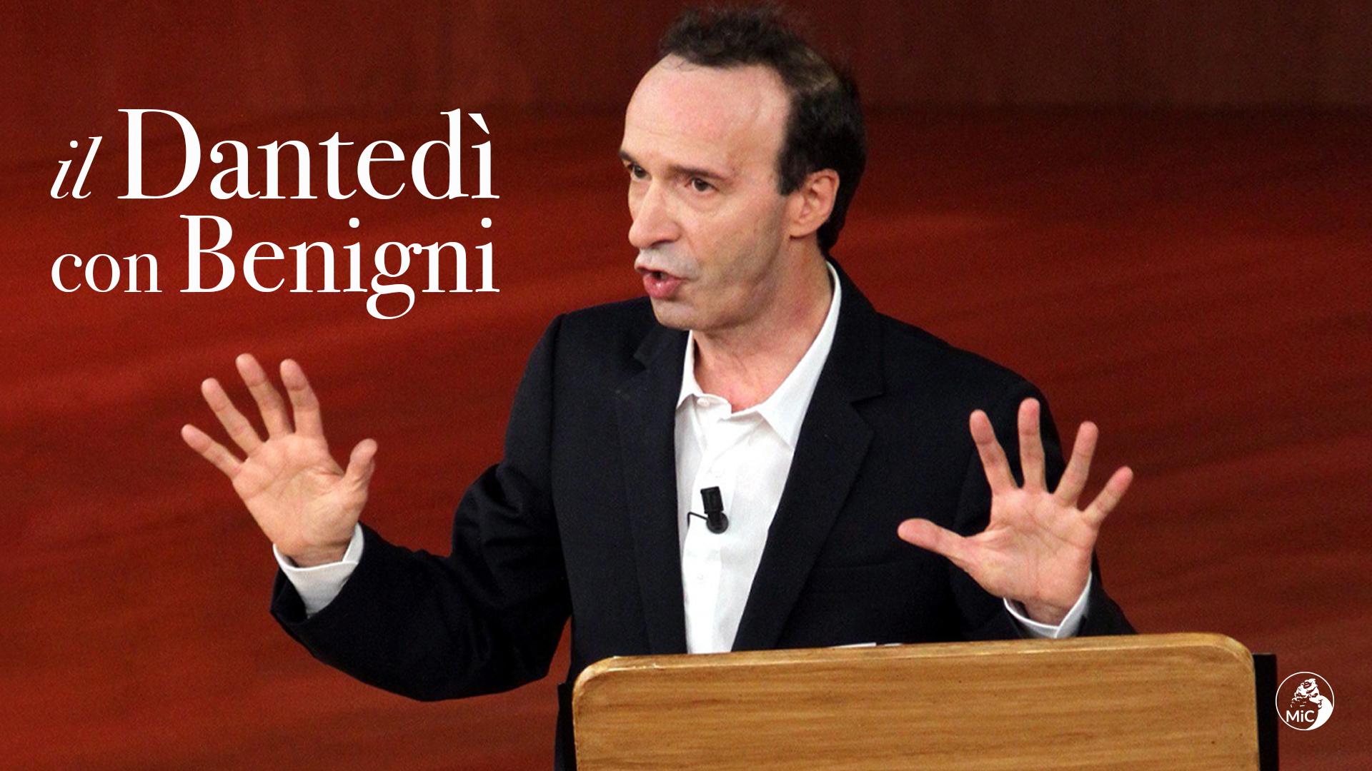 Roberto Benigni legge la Divina Commedia al Quirinale