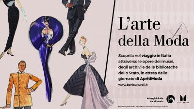 cover VIAGGIO IN ITALIA ATTRAVERSO L'ARTE DELLA MODA