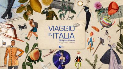 cover VIAGGIO IN ITALIA 365 GIORNI L'ANNO