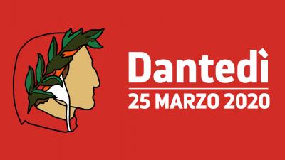 cover DANTEDÌ, LA PRIMA EDIZIONE CON LETTURE SOCIAL DEL SOMMO POETA