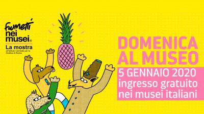 cover 5 GENNAIO 2020 TORNANO LE DOMENICHE GRATUITE