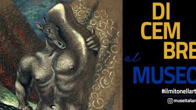 cover #ILMITONELLARTE È LA NUOVA CAMPAGNA DEL MIBACT DEDICATA ALLE DIVINITÀ E AGLI EROI LEGGENDARI