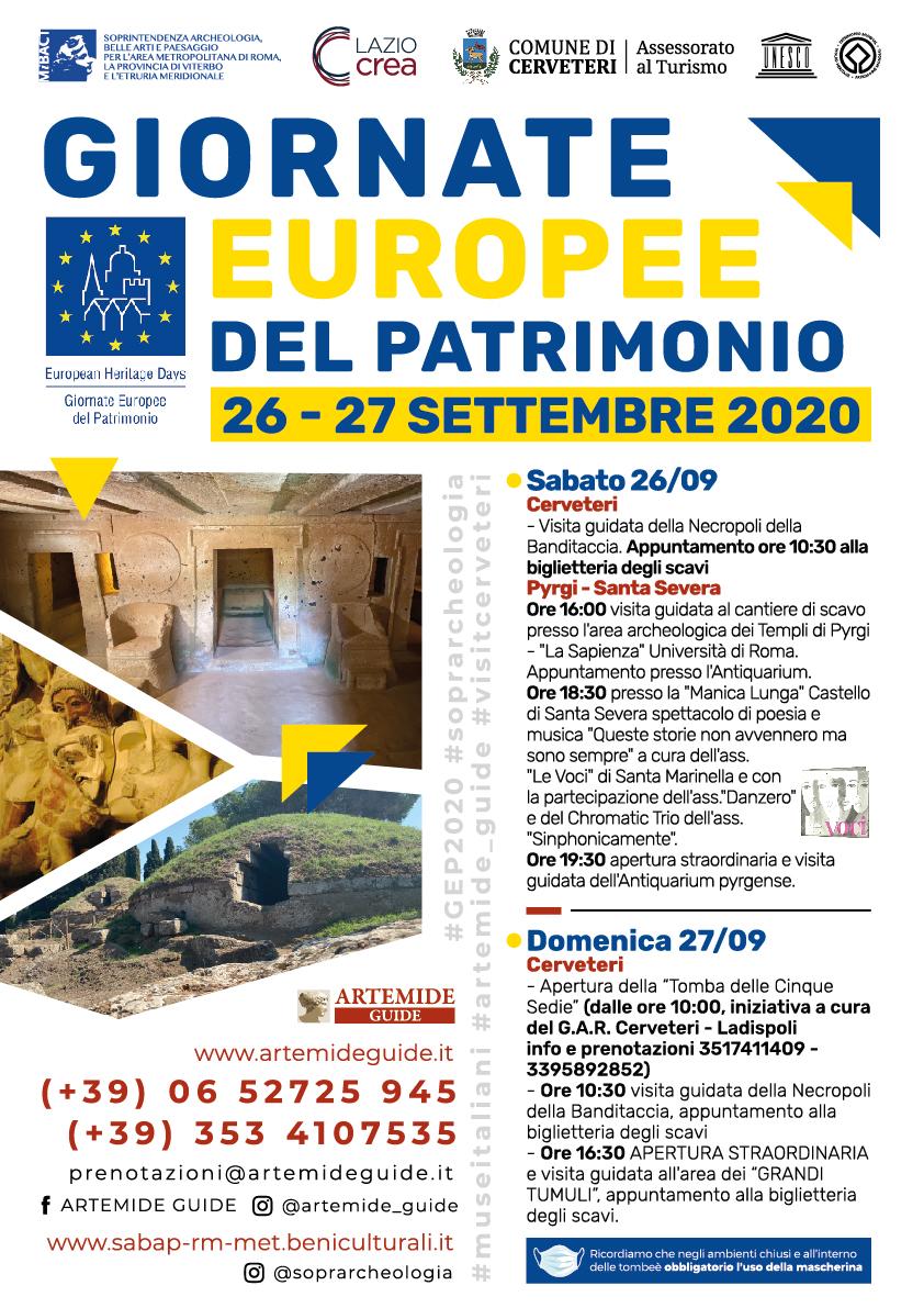 Aperture straordinarie con visite guidate alla Necropoli della Banditaccia e all'area archeologica e Castello di Pyrgi (Santa Severa)