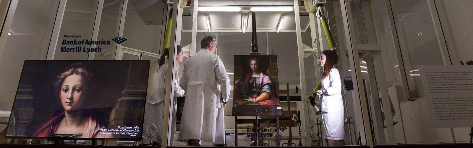 Il Restauro trasparente: curiosità sul Laboratorio della Pinacoteca e sulle attività dei restauratori